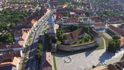 (COD 3356)  Biserica Evanghelică Luterană, Fortificată din Codlea