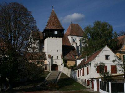 (cod 3827) Biserica Evanghelică localitatea Bazna