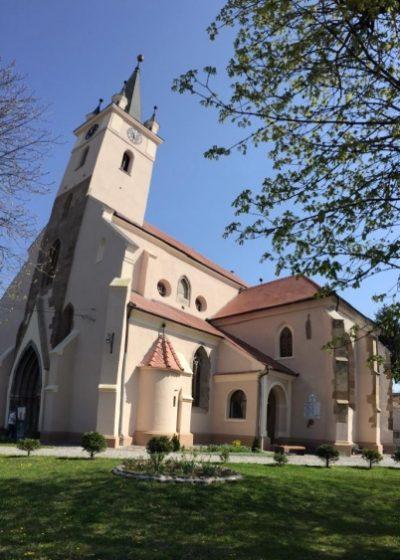 (cod 5903) Biserica Evanghelica Reghin