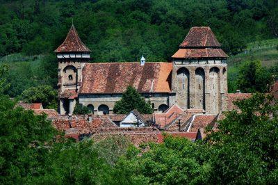 (cod 3855) Biserica Fortificată Valea Viilor