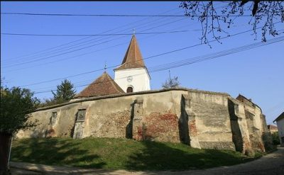 (cod 3837) Biserica Fortificată de la Ocna Sibiului