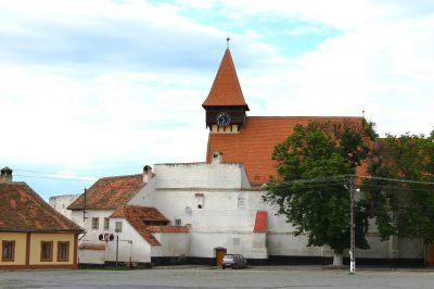 (cod 3807) Biserica Fortificată localitatea Miercurea Sibiului