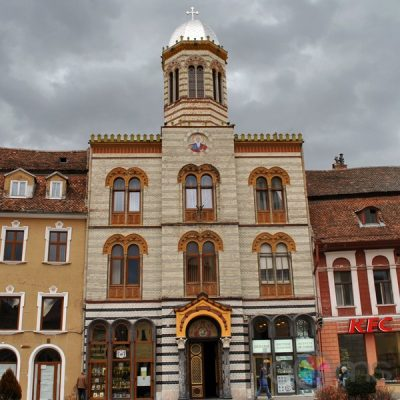 (cod 3372) Biserica Ortodoxă Adormirea Maicii Domnului, Hărman