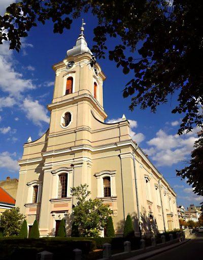( cod 6000) Biserica Reformată cu lanțuri din Satu Mare
