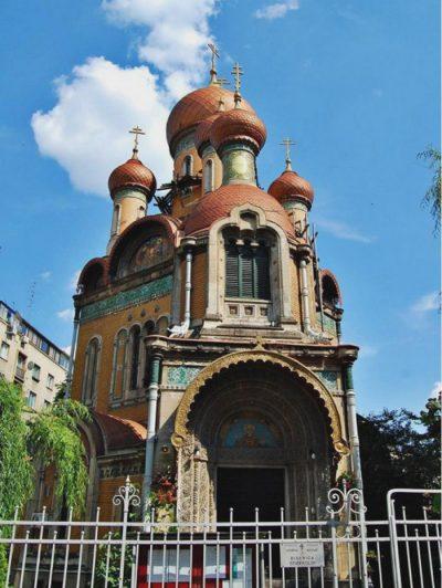 (cod 4025) Biserica Rusă din București, Biserica Sfântul Nicolae