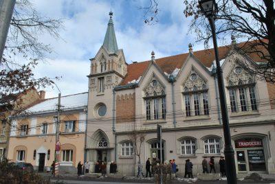 (cod 5911)  Biserica Unitariană din Târgu Mureș