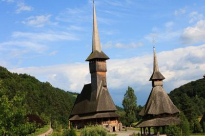 (cod 3123) Biserica de lemn Poienile Izei