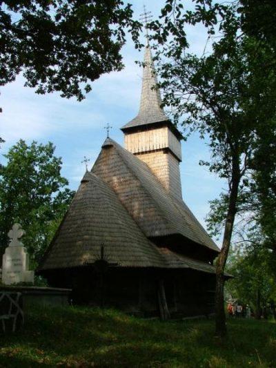 (cod 3113) Biserica de lemn din Ferești, comuna Giulești