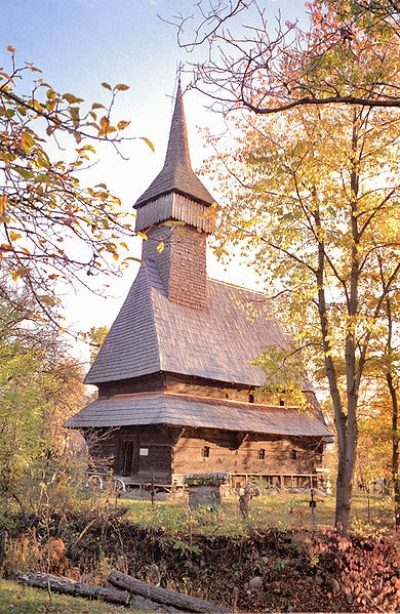 (cod 3119) Biserica de lemn din Sârbi – Josani