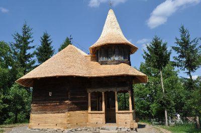 """(cod 3632) Biserica de lemn """"Cuvioasa Paraschiva"""" sat Valea Sării"""
