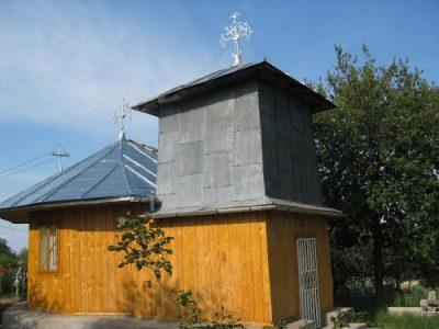 """(cod 3678) Biserica de lemn """"Intrarea in Biserica"""" sat Năneşti"""