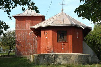 (COD 2107) – Biserica din lemn din Zlodica comuna Cepelnita Iasi