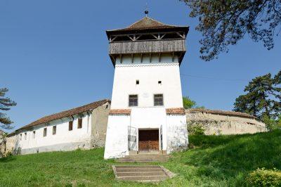 (COD 3308) – Biserica  fortificata din Ungra – Brasov