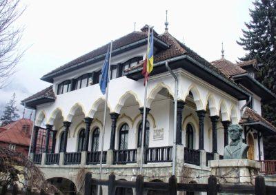 """(cod 3712) Casa memorială """"Cezar Petrescu"""", (Buşteni)"""