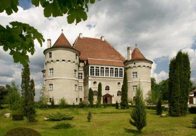 (cod 2306) Castelul Bethlen-Haller de la Cetatea de Baltă