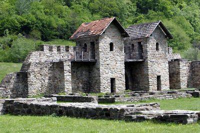 (cod 4506)  Castrul Roman Jidava