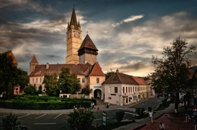 (cod 3889) Complexul Arhitectural Franciscan localitatea Mediaș