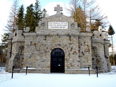 (cod 4250) Mausoleul Eroilor din Soveja