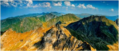 (cod 3421)  Munții Făgăraș