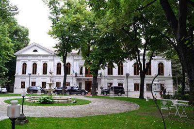 (cod 3566) Palatul Ghika Tei