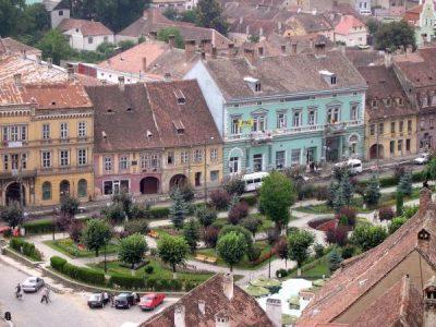(cod 5943)  Piaţa Hermann Oberth – Sighişoara