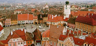 (cod 4316) Piața Mică din Sibiu
