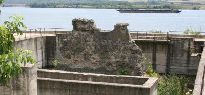 (cod 6534) Ruinele Podului lui Traian