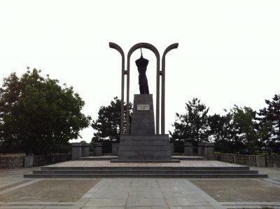 (cod 4289)Statuia Victoriei de la Tișița