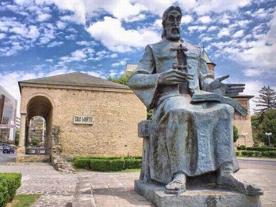 (COD 2080) – Statuia lui Dosoftei din Iasi
