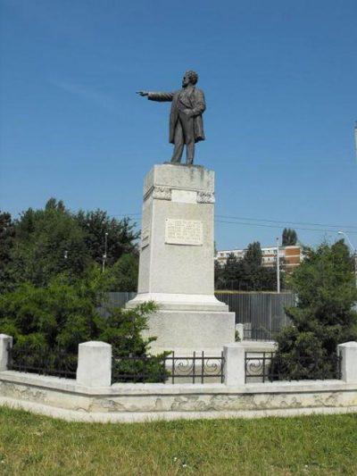 (cod 3957) Statuia lui I.C. Brătianu