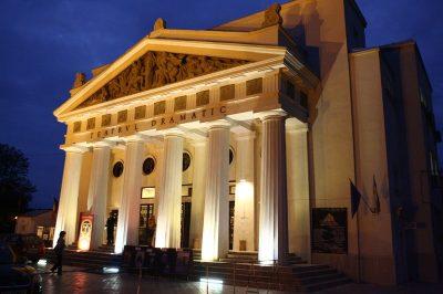 (cod 3906) Teatrul Dramatic Fani Tardini