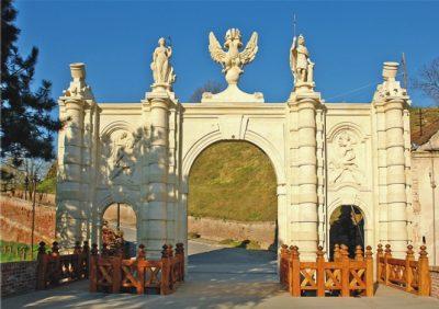 (cod 2324)  Traseul Porților din Alba Iulia