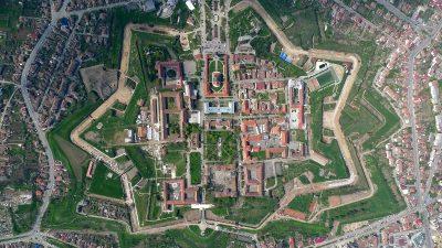 (cod 2325)  Traseul celor Trei Fortificații, Alba