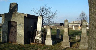 (cod 3660) Cimitirul evreiesc Odobești