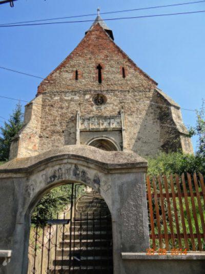 (cod 3828) Biserica Evanghelică-Luterană din Dârlos