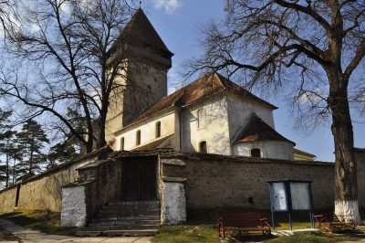 (cod 3829) Biserica Fortificată Chirpăr