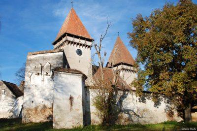 (cod 3857) Biserica Fortificată Dealu Frumos