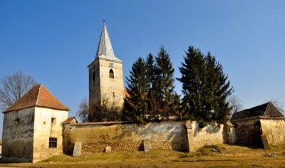 (cod 3845) Biserica Fortificată din Bruiu