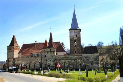 (cod 3808) Biserica Fortificată localitatea Moșna