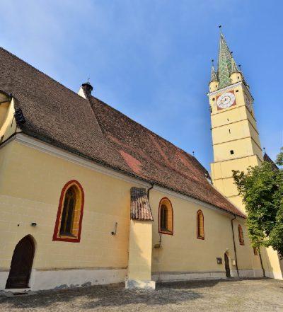(cod 3862) Biserica Sfânta Margareta Mediaș
