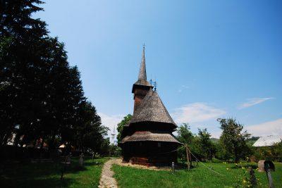 (cod 3105) Biserica de lemn Bogdan Vodă