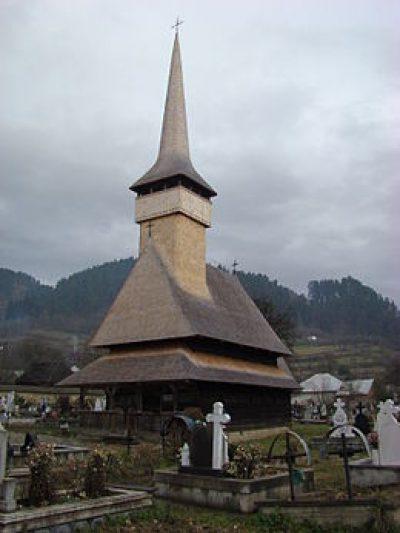 (cod 3118) Biserica de lemn Rozavlea
