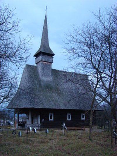 (cod 3127) Biserica de lemn din Glod, comuna Strâmtura