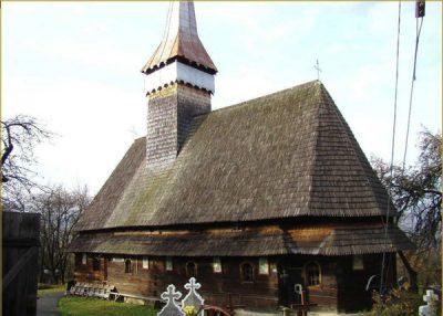 (cod 3113) Biserica de lemn din Hoteni, Ocna Sugatag