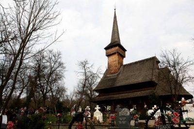 (cod 3129) Biserica de lemn din Ieud Șes