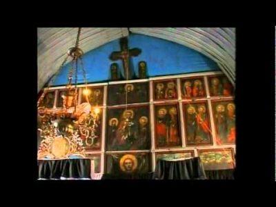 """(cod 3633) Biserica de lemn """"Cuvioasa Paraschiva- Tei""""  din Câmpuri"""