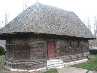 """(cod 3631) Biserica de lemn """"Cuvioasa Paraschiva"""" sat Ruginești"""