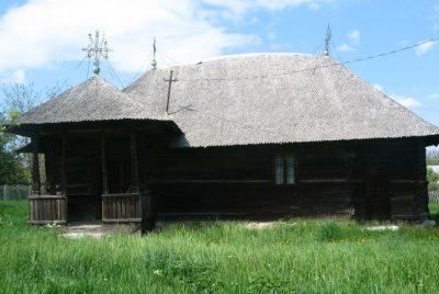 """(cod 3636) Biserica de lemn """"Sfântul Ioan Botezatorul"""" sat Chiţcani"""