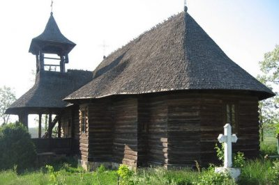 (COD 2093) – Biserica din lemn din Prigoreni Iasi