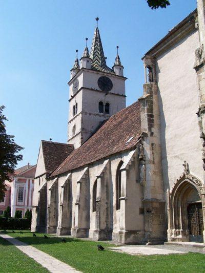 (cod 2300) Biserica evanghelică din Sebeș
